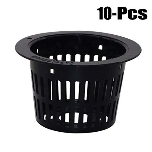 JUSTDOLIFE 10PCS Panier De Coupe en Maille Panier en Plastique Pots De Jardin Pots De Jardin