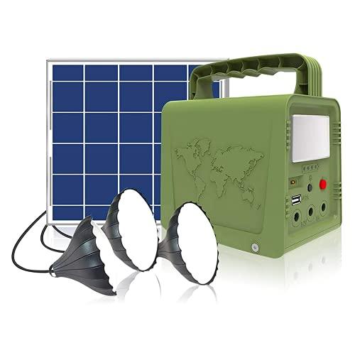 Small Solar Generator for Camping