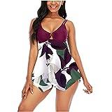 N-B Bañadores Mujer Natacion Vestidos Cortos Colores Trajes de Baño de Una Piezas 2021 Verano Bikinis de Adolescentes Chica Neopreno Ropa de Deportivo