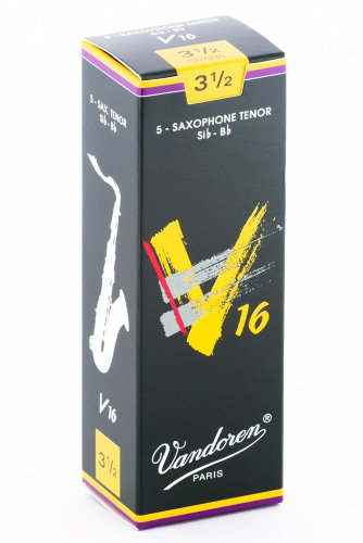 Vandoren SR7235 - Caja de 5 cañas para saxofón tenor