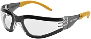 Elvex Go-Specs III Safety Glasses-Foam Lined Frame-Clear Anti-Fog Lens (Bundle of 5) - GG-15C-AF