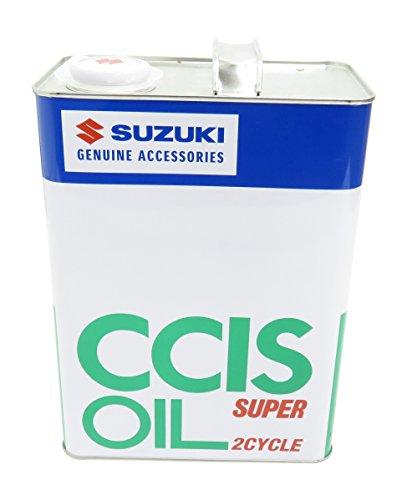 SUZUKI [ スズキ純正オイル ] 2サイクルオイル [ CCISオイル スーパー ] JASO FC [ 4L缶 ]