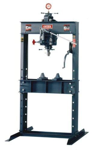 Purchase Dake 50H Model Hand Operated H-Frame Hydraulic Press, 50 Ton Capacity, 43.5 Length x 36 W...
