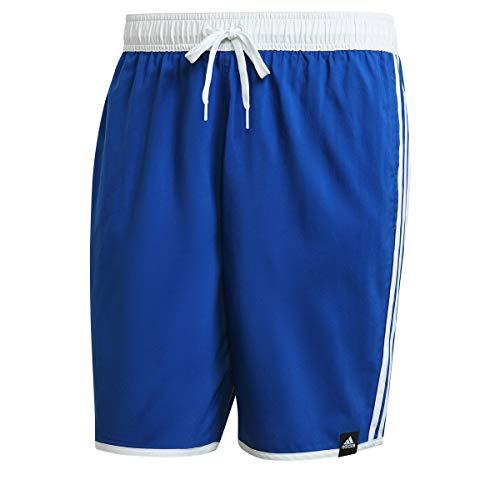 adidas 3s Clx Sh Cl Badehose für Herren, Herren, Schwimm-Slips, GQ1108, Blau/Weiß, L