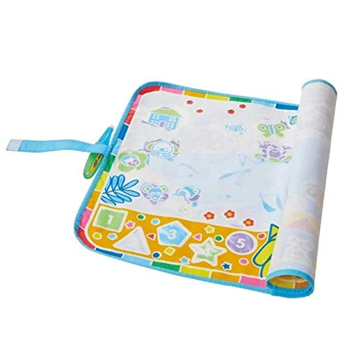 Aquadoodle My First Discovery (Roll n Go) Water Doodle Mat, Official TOMY No Mess Colouring &...