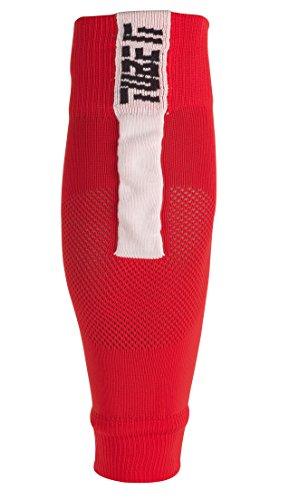 uhlsport Herren Tube It Sleeve Socken, rot/Weiß, 41-44