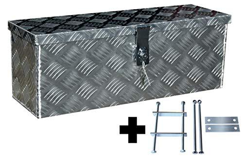 Truckbox D025 + MON2012 Montagesatz, Werkzeugkasten, Deichselbox, Transportbox