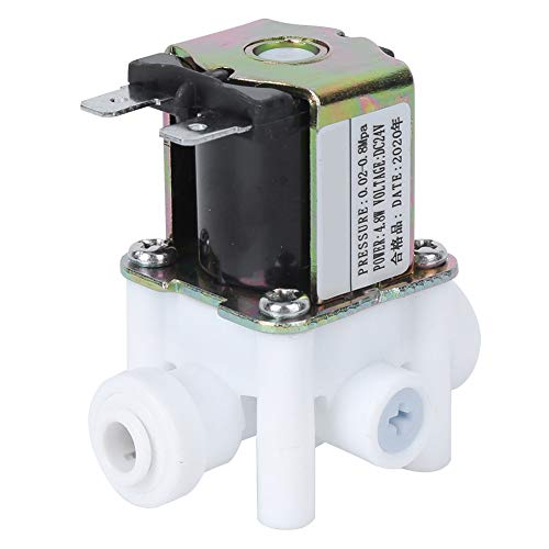 Good Electric Solenoid Valve, Control Water Purifier Quick Response DC24V Valve Water Air Plastic
