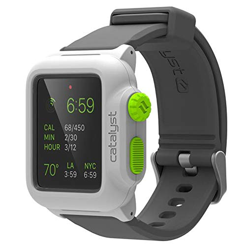Catalyst - Custodia Impermeabile Antiurto per Apple Watch 42 mm Serie 1 (Verde Pop)