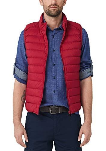 s.Oliver Herren 28.908.53.9009 Outdoor Weste, Rot (Uniform Red 3660), XXX-Large (Herstellergröße: 3XL)