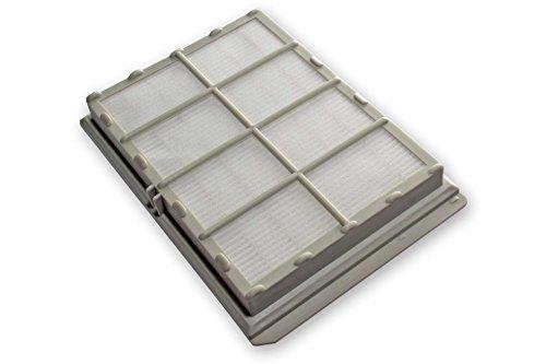 vhbw Ersatz Hepa Allergie Abluft Filter für Staubsauger Siemens Bosch Ultra Exclusiv, VS04G178006, VS32A2202, VS32A2204, VS32A2208 wie VZ54000, 263506
