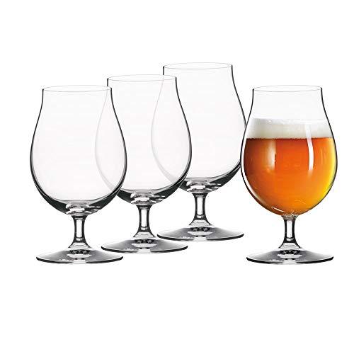 Spiegelau & Nachtmann Bicchieri della Serie Beer Classics, Trasparente, Set da 4