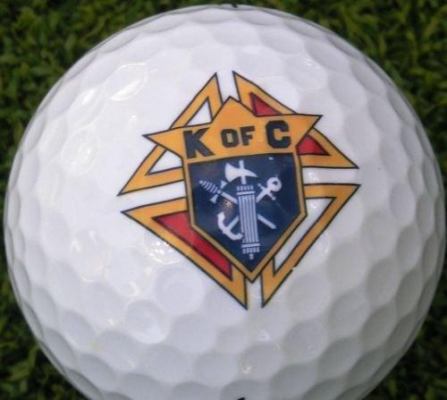 Why Choose 3 Dozen Callaway Mint AAAAA (Knights of Columbus Logo) Used Golf Balls