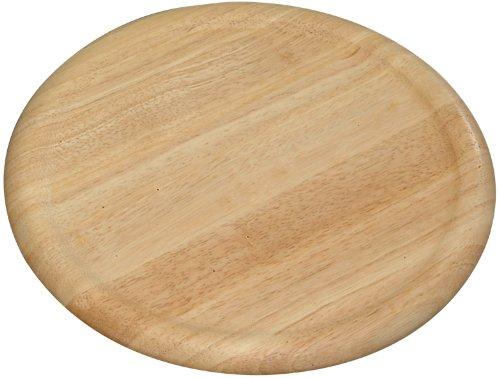 Kesper 60462 Planche à pizza-Bamboo, Nature,  32 x 1.5 cm