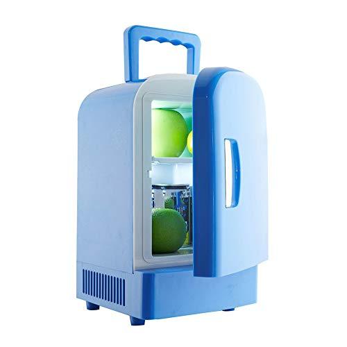 VSander Calentador AC Buena 4L Mini refrigerador del refrigerador Portable eléctrico de Refrigeración/DC termoeléctrico/System- Universal Refrigerador del Coche del hogar del Recorrido