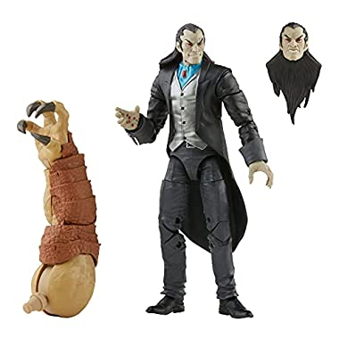 Marvel Legends Series Morlun 6-inch Collectible Action Figure Toy and 1 Accessory and 1 Build-A-Figure Part