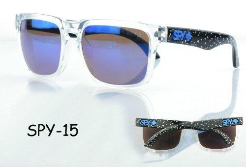 Men's Womens Spy Helm Eyewear Retro Personalized Sunglasses Spy 1-15 by Spy