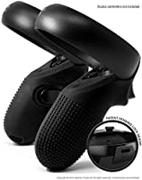 Evolution Controller Skins for Oculus Quest/Rift-S by Asterion - Premium Gel Shell Silicone Grip Protection Covers with Ultra Secure Lock for Touch v2 (Set of 2)