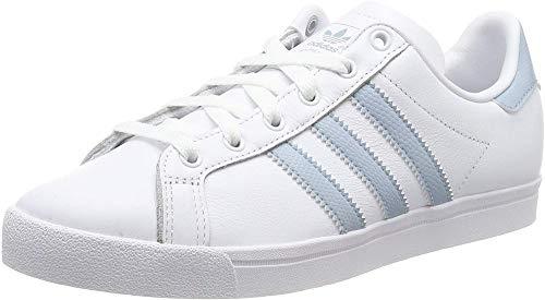adidas Coast Star W, Scarpe da Ginnastica Donna, Bianco (Ftwr White/Ash Grey S18/Ftwr White Ftwr White/Ash Grey S18/Ftwr White), 36 EU