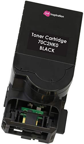 Tóner Compatible para Lexmark CS310dn CS310n CS410dn CS410dtn CS410n CS510de CS510dte | 702H 702HK 70C2HK0 Negro 4000 páginas