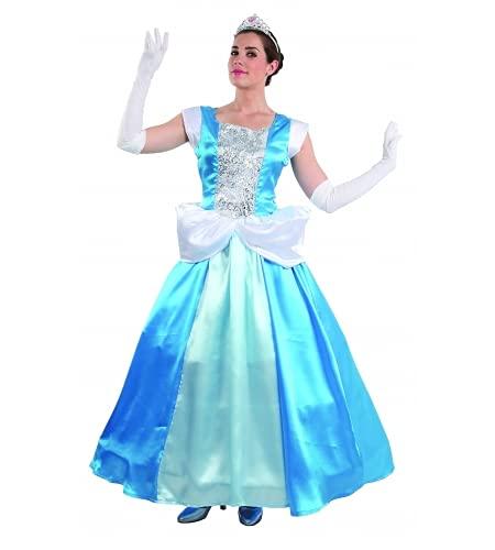 Fiesta y Carnaval, S.L.. DISFRAZ CENICIENTA ADULTO - Talla 42 ¦ M Mujer