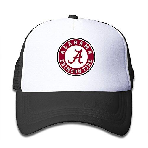 Custom Alabama Crimson Tide Kids Trucker Gorras de béisbol sombrero niños niñas talla única ajustable por je9wz