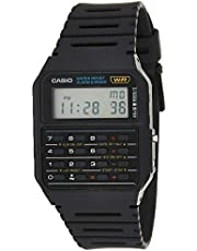 Casio Collection Watch For Men Ca-53W-1Er, Black Band, Digital Display