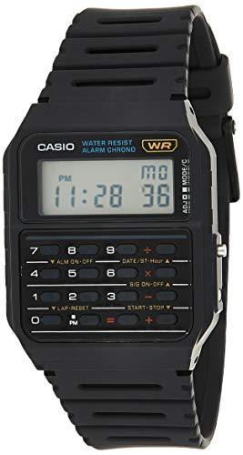 Casio Herren Uhr mit Taschenrechner CA-53W-1
