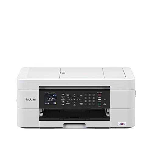 Brother mfc-j497dw Multifunktionsgerät mit Fax Tintenpatrone (A4Duplex, WLAN, Druck), weiß