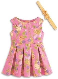 American Girl My AG Flower Garden Dress and Charm