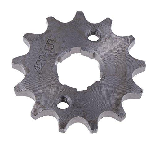 Gazechimp 13 Zähne 420 Kettenrad Vorne Kettenritzel Für 110cc 125cc 140cc Pro Fahrrad