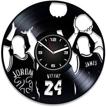 DecorStudioUA Basketball Vinyl Record Wall Clock NBA Gift Basketball Vinyl Clock Basketball product image