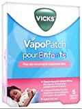 Vicks VapoPatch - Lote de 5 dispositivos adhesivos para niños