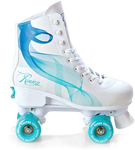 RAVEN Rollschuhe Roller Skates Serena Navy/Mint 35-38 (22,5cm-24cm)