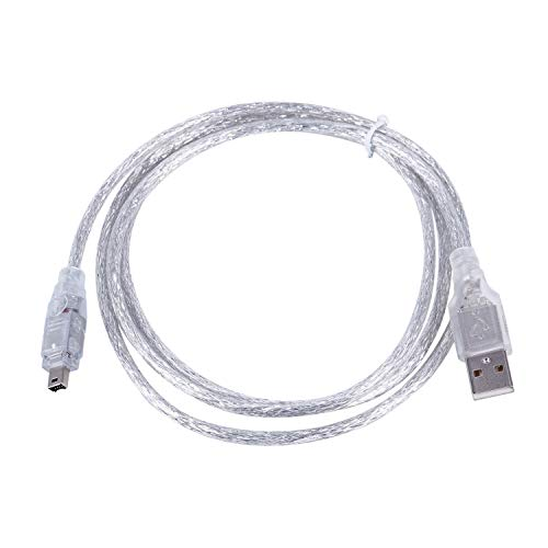 SovelyBoFan 1.5M USB a IEEe 1394 Convertidor de Cable Adaptador Firewire DV de 4 Pines para CáMara de PC