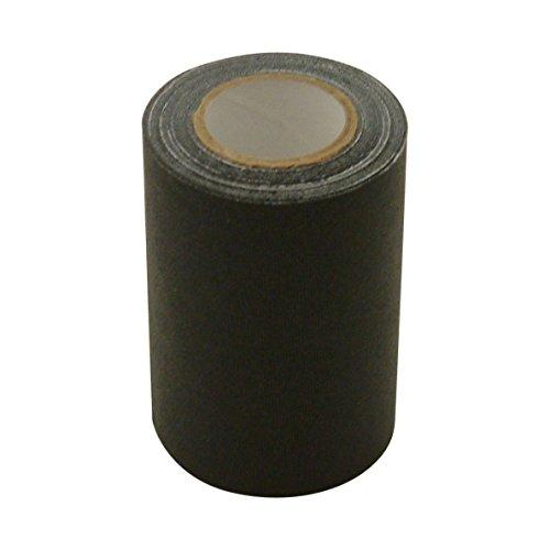 JVCC REPAIR-1 Leather and Vinyl Repair Tape: 3 in. x 15 ft. (Black) by J.V. Converting