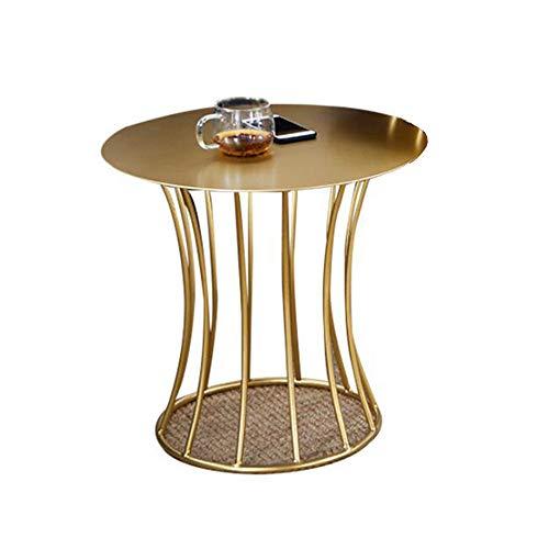 Desk XIAOLIN salontafel woonkamer klein appartement industriële wind bank bijzettafel retro goud ijzer kunst bijzettafel computer