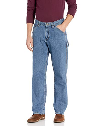 LEE Men's Dungarees Losse-Fit Carpenter Jean - 34W x 32L - Stonewash