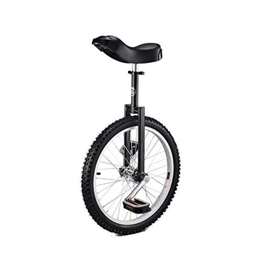 Monociclos Carretilla, monociclo deportivo para adultos de 20 pulgadas para niños, acrobacias, bicicleta de equilibrio para una sola aptitud (5 opciones de color) Deportes y aire libre ( Color : E )