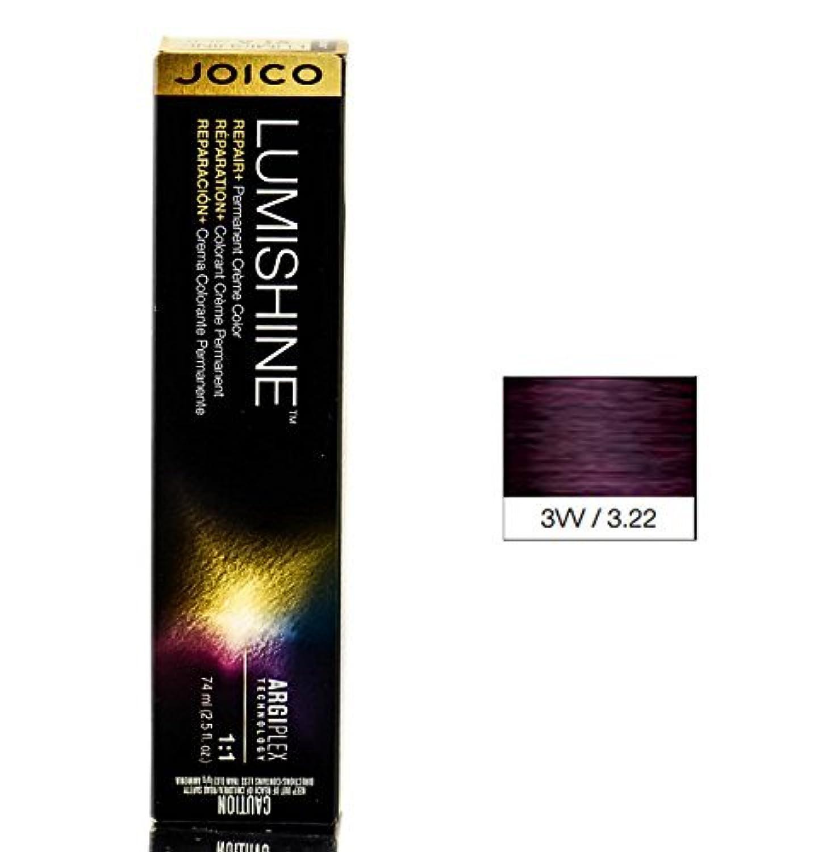 Joico Lumishine永久クリーム色、3vv / 3.22、 2.5オンス
