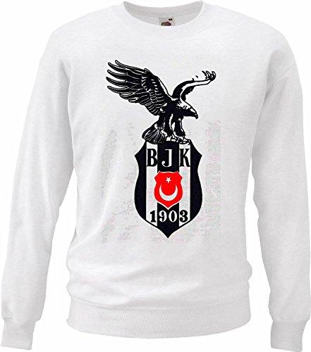Reifen-Markt Sweatshirt Damen Motiv 3532 Farbe Weiß Größe XS