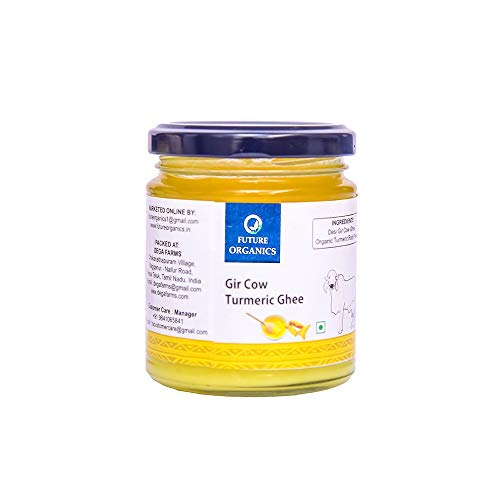 Future Organics Ghee- Gir Cow Turmeric - 175 ml
