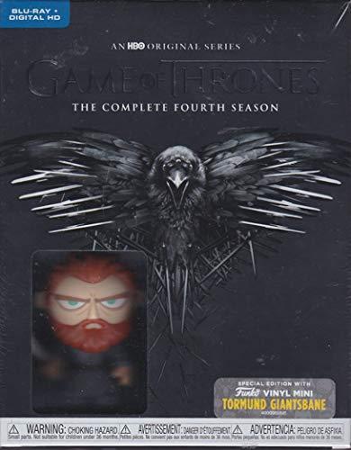 Game of Thrones The Complete Fourth Season with Funko Vinyl Mini Figure (Tormund Giantsbane)