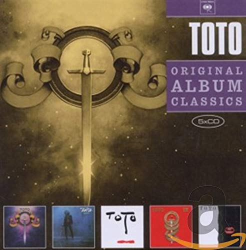 Price comparison product image 5cd Original Album Classics (Toto / Hy Dra / Turn Back / Toto Iv / Isolation)