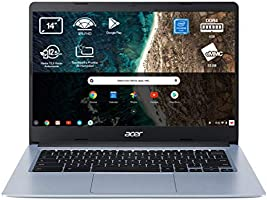 "Acer Chromebook 314 - Portátil 14"" FullHD (Intel Celeron N4020, 4GB RAM, 64GB eMMc, Intel UHD Graphics, Chrome OS),..."