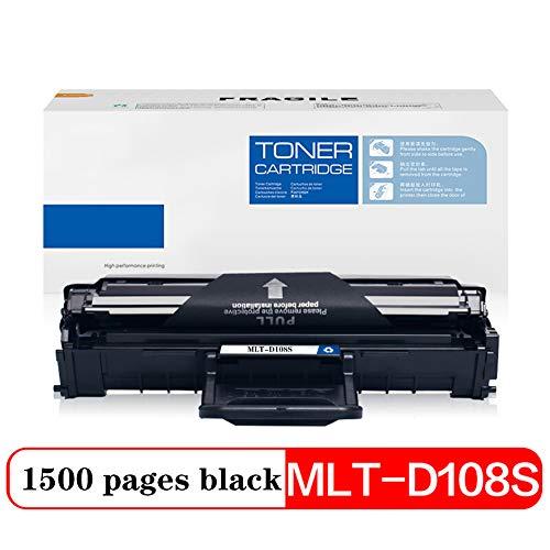 Compatibel Toner Cartridge Vervanging voor MLT-D108S, voor Samsung ML-1641 ML-2241 ML-1640 ML-2240 Printer Toner Zwart 1500 Pagina's Clear Print