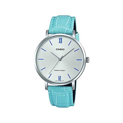 Casio Analog Silver Dial Women's Watch-LTP-VT01L-7B3UDF (A1631)