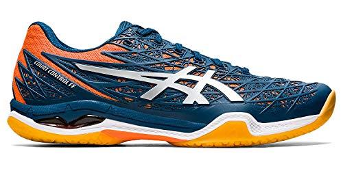 ASICS - Mens Court Control Ff Shoes, Size: 10.5 M US, Color: Mako Blue/Pure Silver
