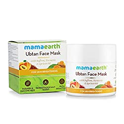 Mamaearth Ubtan Face Pack Mask for Fairness