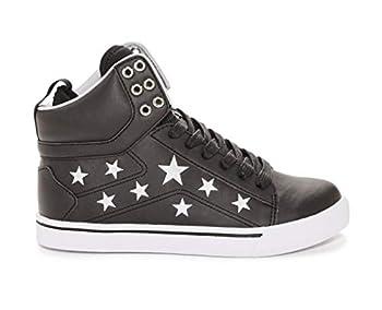 Pastry Pop Tart Star Youth Sneaker Black/Silver Size 3
